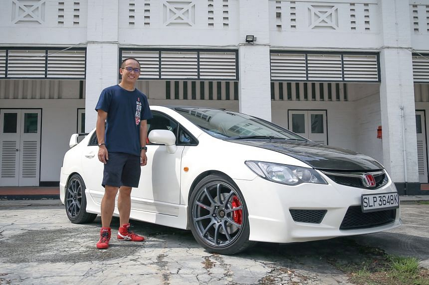 Since taking over the 2008 Honda Civic Type R last month, Mr Aaron Hia says driving it has been a thrilling experience.