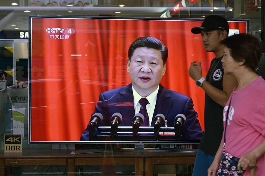 """The US is hoping it will do more given the """"great relationship"""" that has developed between Mr Xi and President Donald Trump."""