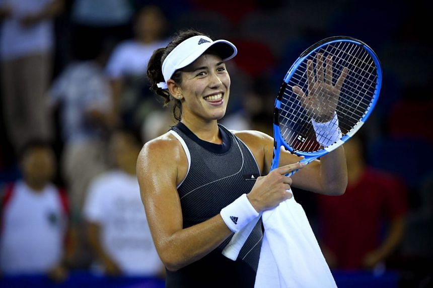 Muguruza is only the second Spanish woman after Arantxa Sanchez Vicario to reach number one.