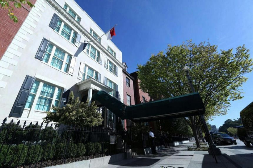 This is the third time PM Lee Hsien Loong will be staying at The Blair House - also known as the President's Guest House.
