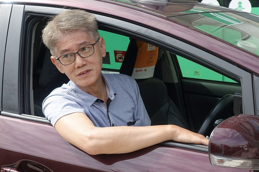 Mr Luen Chi Keung, who quit ComfortDelGro to join Grab partner SMRT a month ago, said he now gets time to have family dinners.