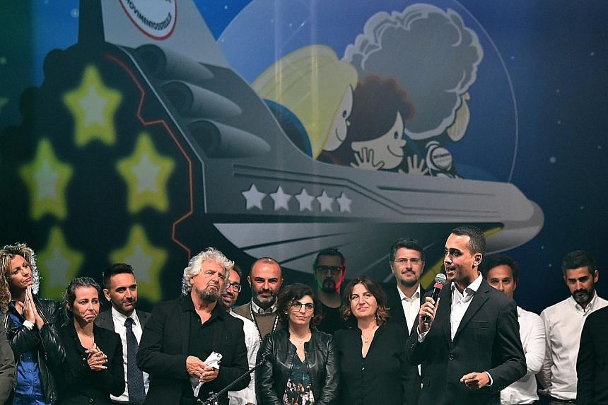 One observer says the Italian passion for seeing intrigue everywhere has helped erode the standing of traditional political parties while being expertly exploited by political upstarts and insurgents, none more so than the Five Star Movement and its