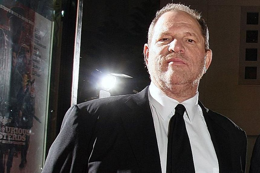 Harvey Weinstein said Oscar-winning actress Lupita Nyong'o (both above) had invited him to see her show instead, in response to her op-ed for The New York Times detailing his predatory behaviour.