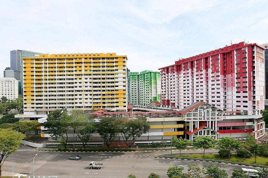 Rochor Centre sits on a 13,749 sq m site earmarked for the upcoming North-South Corridor, slated for completion in 2026.