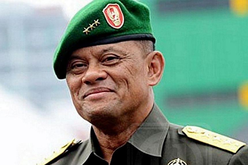General Gatot Nurmantyo was about to board a flight to the US last Saturday when he was told he had been denied entry.