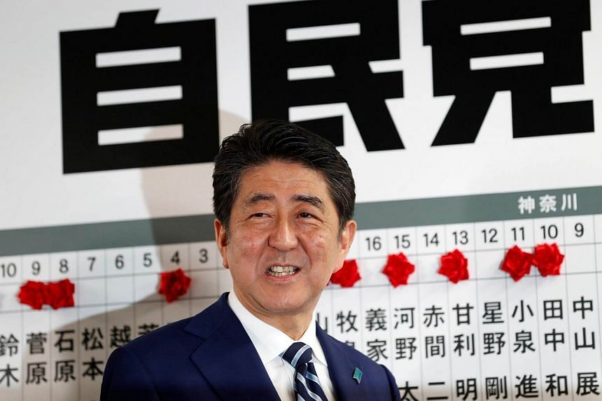 Japanese Prime Minister Shinzo Abe is on course to become the country's longest-serving leader after Sunday's (Oct 22) election win.