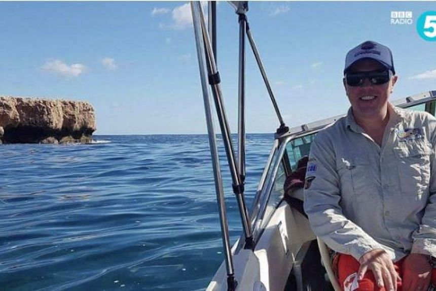 Mr John Craig's boat was swept away due to engine problems and strong currents.