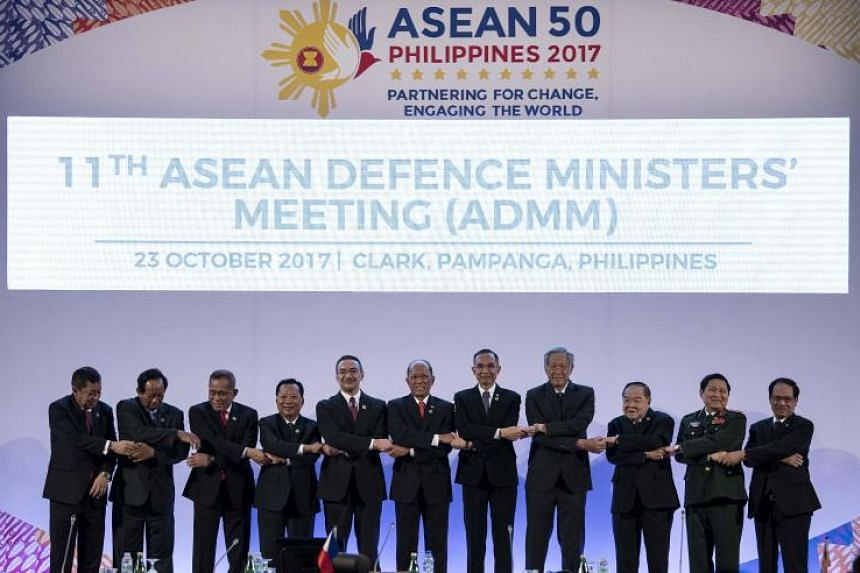 Asean Defence Ministers pledged to work together to strengthen counter-terrorism cooperation.