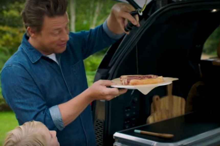 Celebrity chef Jamie Oliver, who has lent his name to everything from conventional cooking utensils to healthy school lunch campaigns is now shilling for Jaguar Land Rover in a series of three online videos.