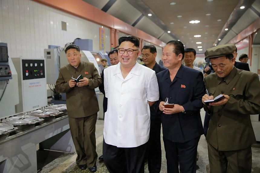 North Korea may be mass producing biological weapons in a research lab that studies agricultural chemicals, Pyongyang Bio-Technical Institute, a US media outlet reported on Saturday (Oct 21), citing an academic report.