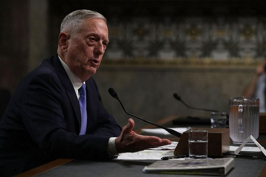 US Defence Secretary James Mattis, who has emphasised diplomacy, is expected to meet both his Japanese and South Korean counterparts on Monday before meeting with all three of them together.