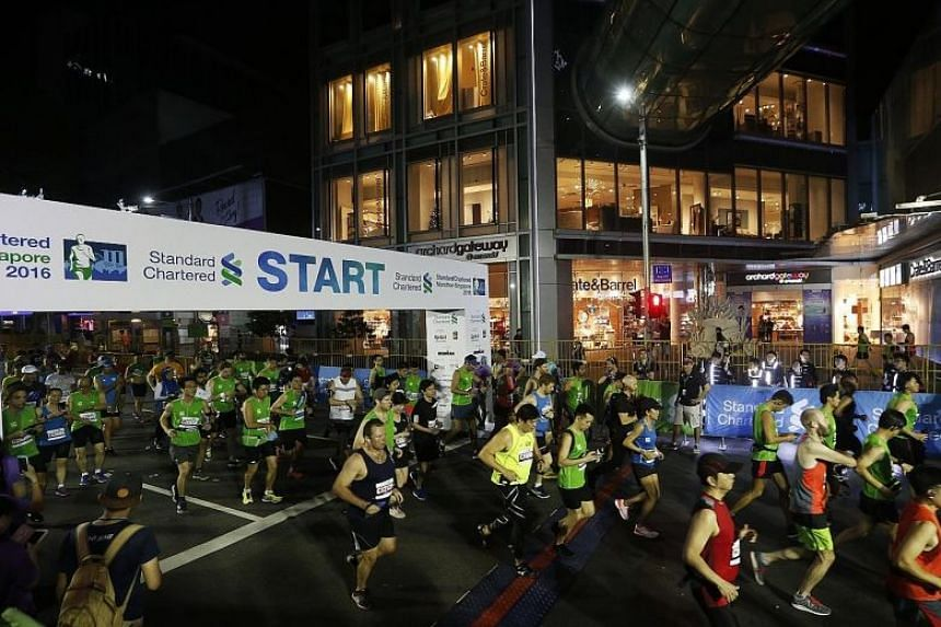 Plans are underway to make the 2018 Standard Chartered Marathon Singapore Marathon (SCMS) a night race.