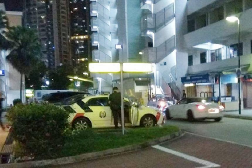 The 57-year-old man was arrested in relation to a case of criminal intimidation after a dispute with his wife in Toa Payoh on Sunday (Oct 22).