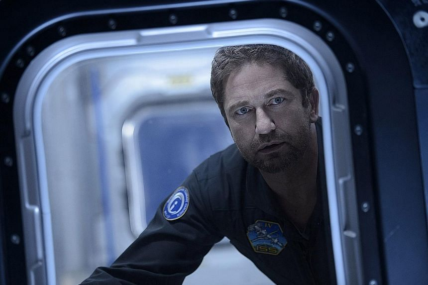 In Geostorm, Gerard Butler stars as a scientist racing to save the planet from environmental destruction.