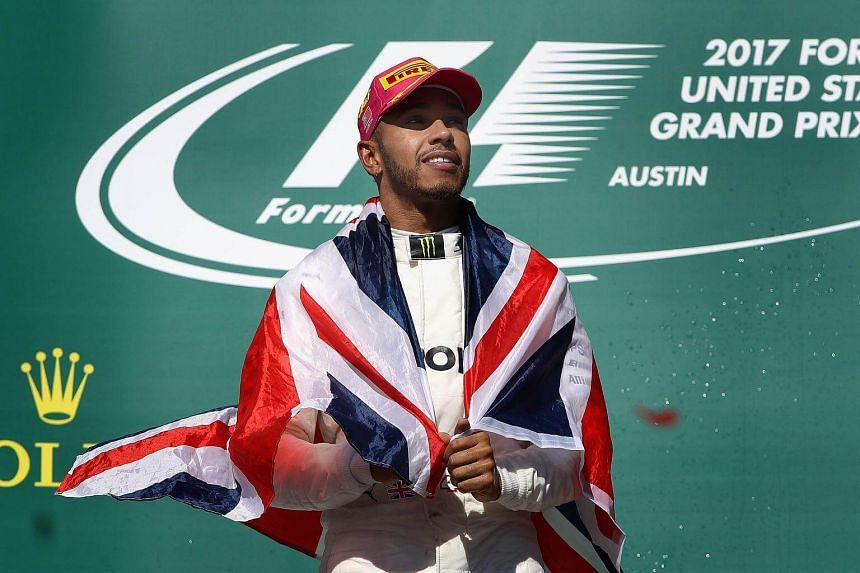 """Lewis Hamilton said the sport had put up with """"the same old boring thing"""" for years."""