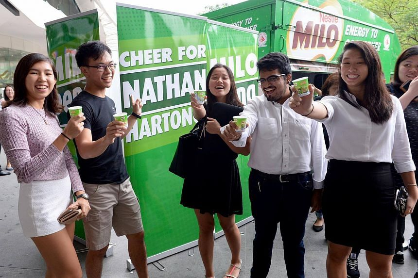Milo is Singaporeans' favourite brand according to a survey by Superbrands.