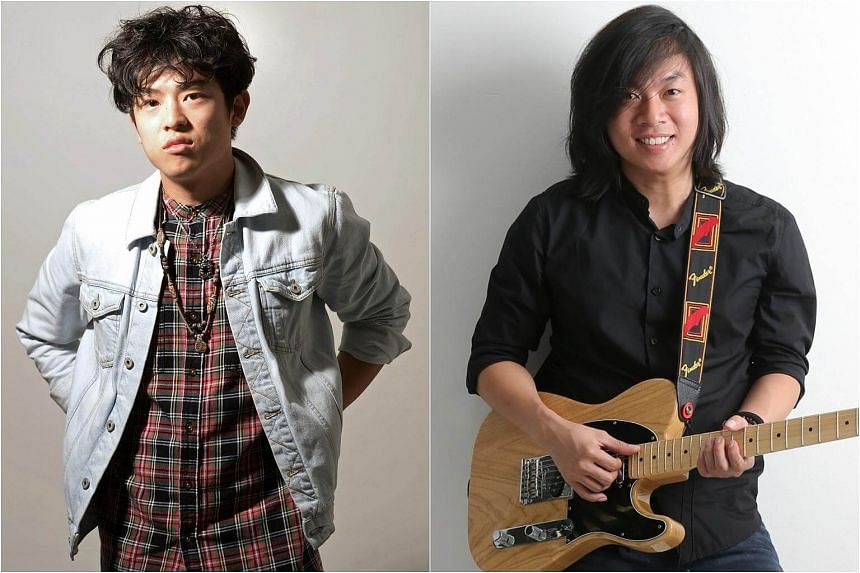 Home-grown singer-songwriters Dru Chen (left) and Deon are heading to Japan for a four-date tour to promote their new music.