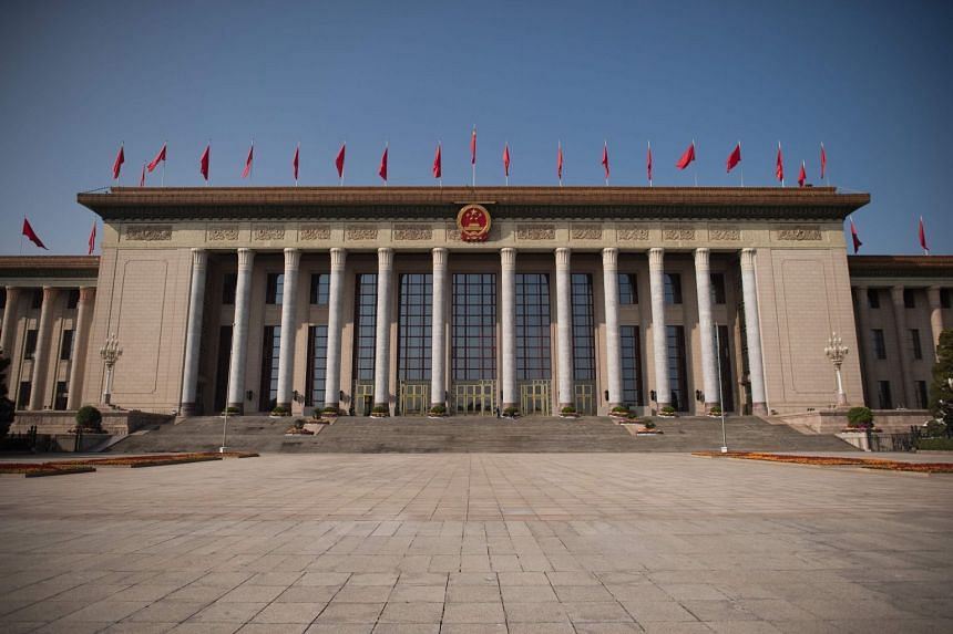 The Great Hall Of The People during the Communist Party's 19th Congress in Beijing, on Oct 23, 2017.