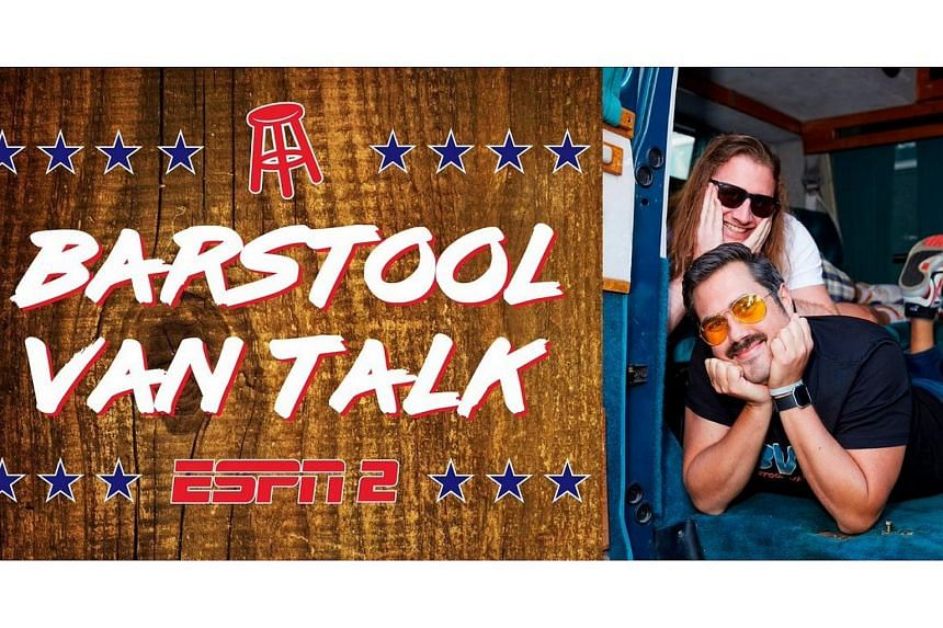 Barstool Van Talk starred two hosts cracking jokes in the back of a van and chatting about sports throughout their antics.