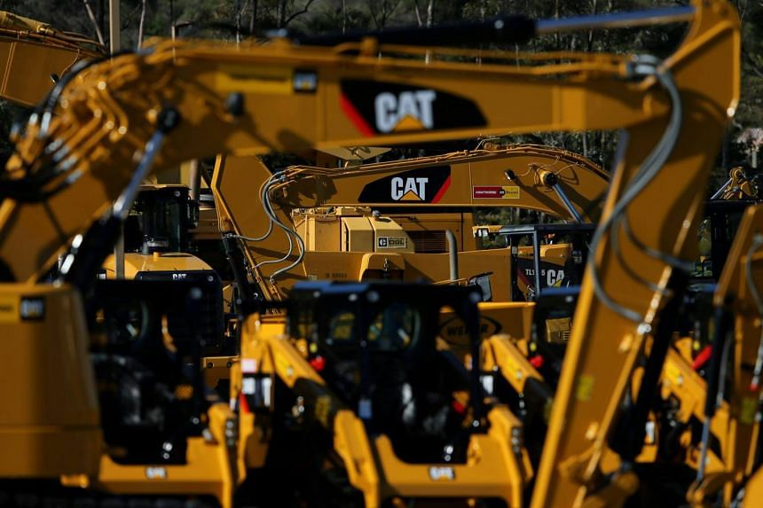 Caterpillar's earnings rose 4.9 per cent after handily beating profit and sales estimates and raising its full-year forecast.