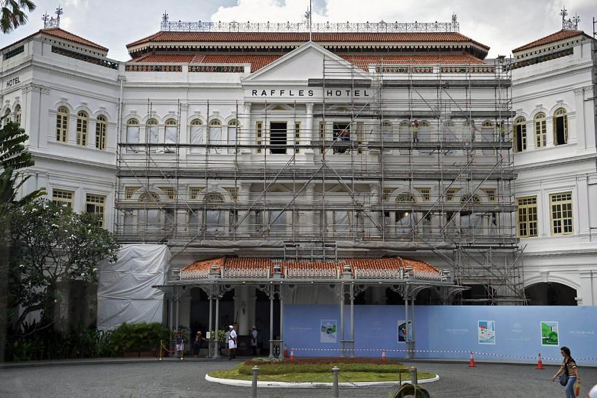 The restoration work is being led by Aedas Singapore, while the interior of the project is in the hands of award-winning designer Alexandra Champalimaud, who has worked on luxury hotels.
