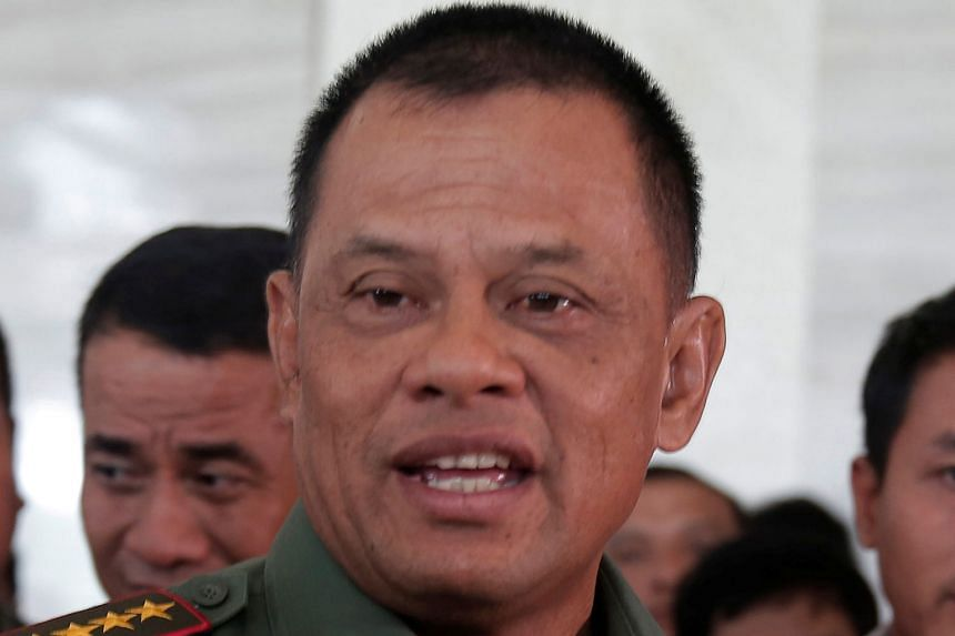 General Gatot Nurmantyo was told he could not travel to the US last Saturday despite having been invited to Washington.