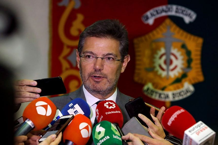 """""""Mr Puigdemont's violation of his obligations cannot be resolved merely by calling elections,"""" Rafael Catala told public radio RNE, referring to Catalan leader Carles Puidgemont."""