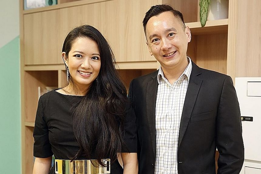 Crib co-founder Elaine Kim and Rajah & Tann partner Benjamin Cheong. The new venture aims to organise talks, legal clinics and workshops where female entrepreneurs can learn about intellectual property protection and funding, among other things.