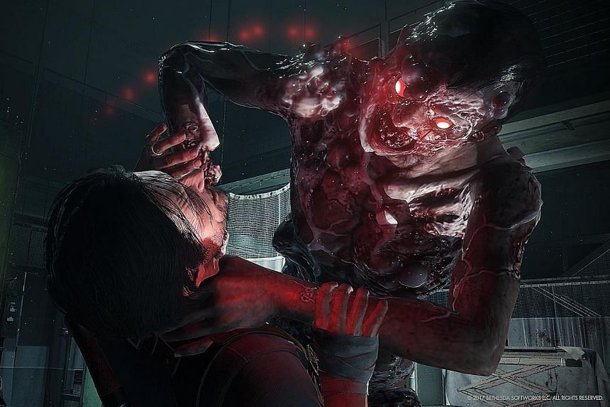 The Evil Within 2 boasts improved graphics quality, and one highlight is the encounter with undead servants.