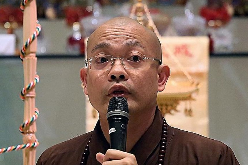 Venerable Guojun offered to pay Mr Lee Boon Teow $30,000 to settle the lawsuit.