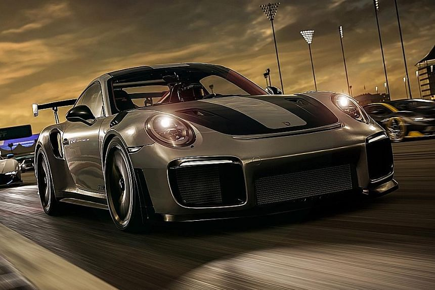 Despite more than 700 cars available in the game, the cars' exterior and interior are faithfully reproduced in the game.