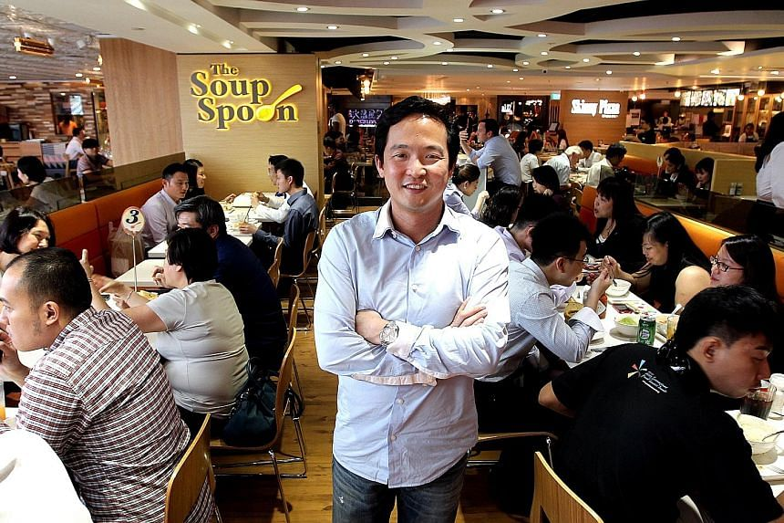 "Mr Andrew Chan, managing director of The Soup Spoon. said: ""There is really nothing to hide or keep secret when it comes to technical know-how in today's world, where everything can be found on the Internet,"""