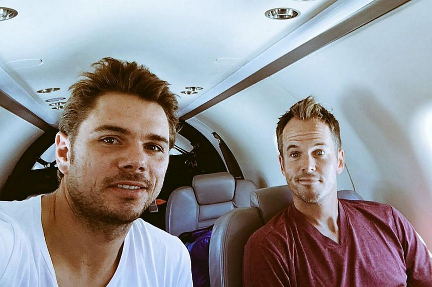 Stan Wawrinka and coach Magnus Norman in a picture from 2016. Norman ended his partnership with Wawrinka after four years, say he decided to take a break from full-time coaching.
