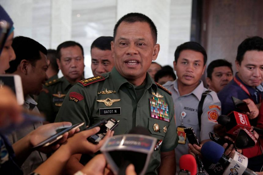 Indonesia's General Gatot Nurmantyo was about to board a flight to the United States on Oct 21 when he was told that the Customs and Border Protection Agency had denied him entry.