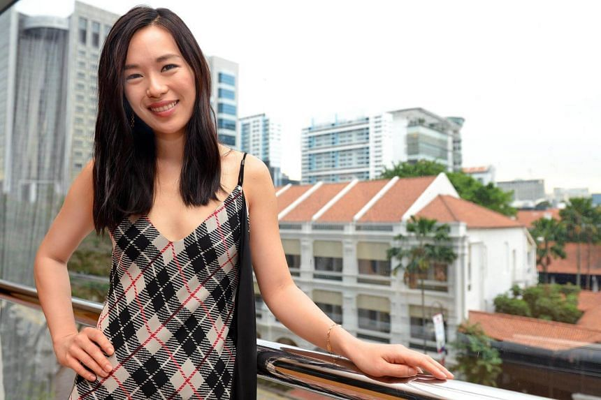 Rebecca Lim, 31, remembers her own struggles with Chinese when she made her show-business debut a decade ago.