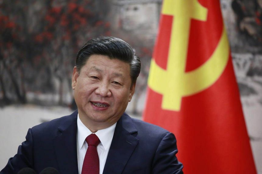 President Xi Jinping was on Wednesday (Oct 25) elected a second term as chairman of the party's Central Military Commission (CMC).