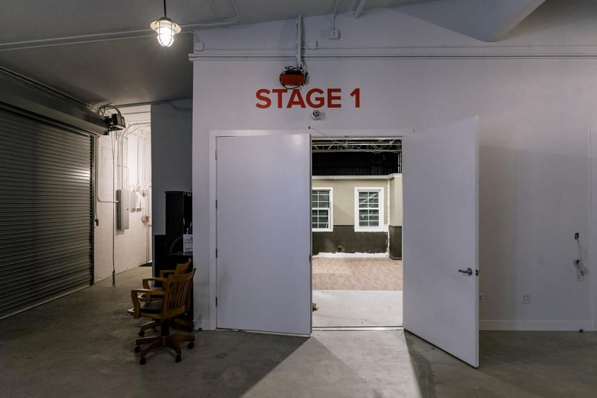 The studios of BuzzFeed Motion Pictures, which are being built in the Hollywood neighborhood of Los Angeles, on Oct 10, 2017.