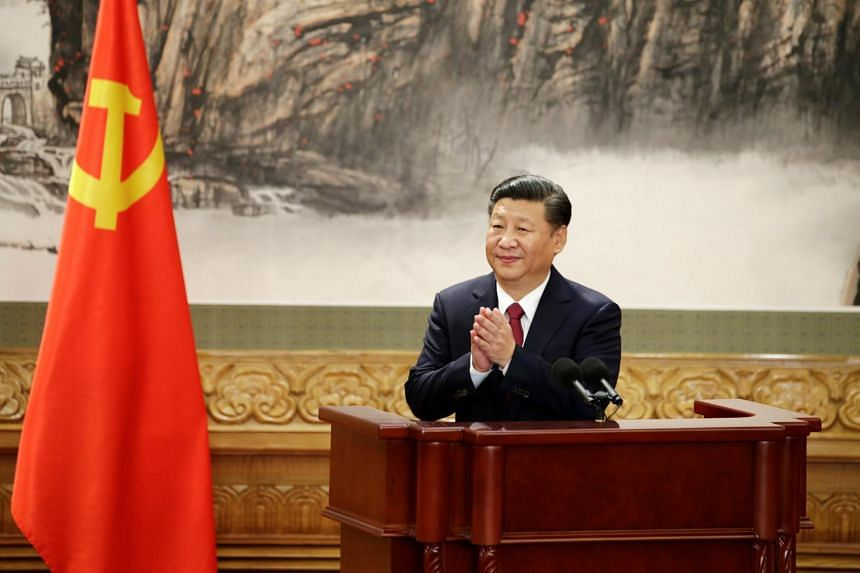 """President Xi Jinping of China has so many titles - more than a dozen and counting - that he has been called """"chairman of everything""""."""