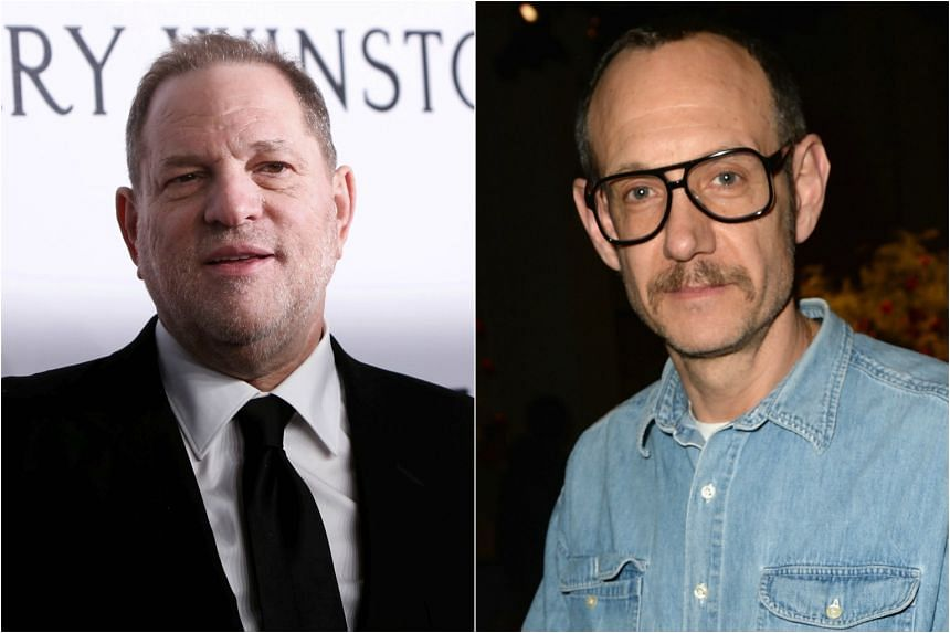 Nearly three weeks after accusations against Harvey Weinstein (left) surfaced, leading fashion photographer Terry Richardson (right) has now been blacklisted by some of the biggest magazines in the world.