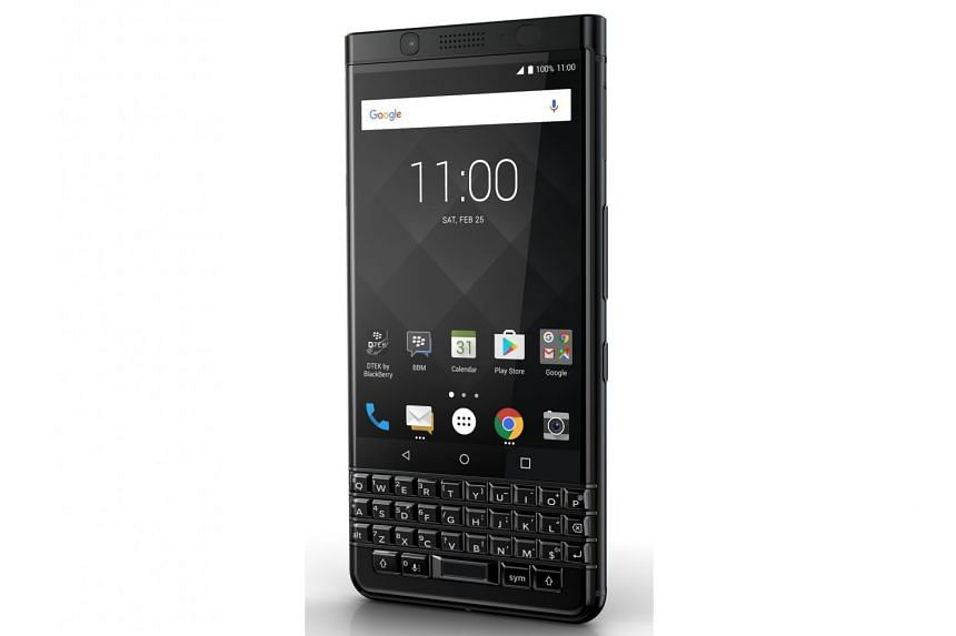 The KEYone is a mix of nostalgia and modernity, with the chunky keyboard slapped on a smartphone running Android 7.1.