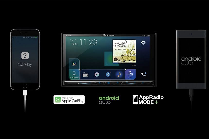 Use Apple CarPlay, Android Auto with Pioneer AV receiver