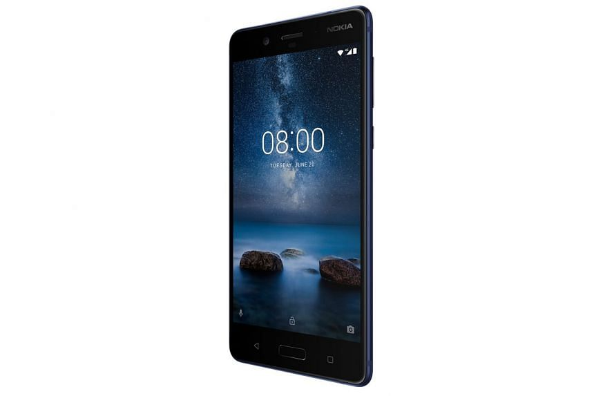 The Nokia 8's high screen resolution makes little difference, given the screen's modest 5.3-inch size.