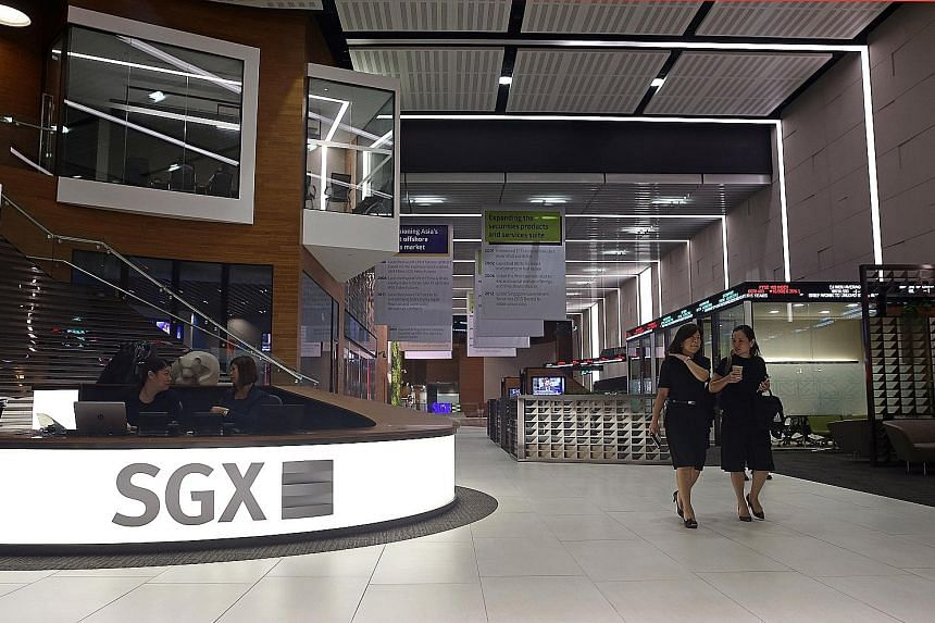 The Singapore Exchange improved its performance across all business units as positive sentiment spurred more market activity.