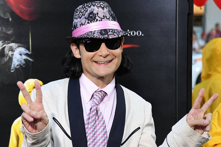 Actor Corey Feldman arrives for the world premiere of the movie It at the TCL Chinese Theatre in Hollywood, on Sept 5, 2017.