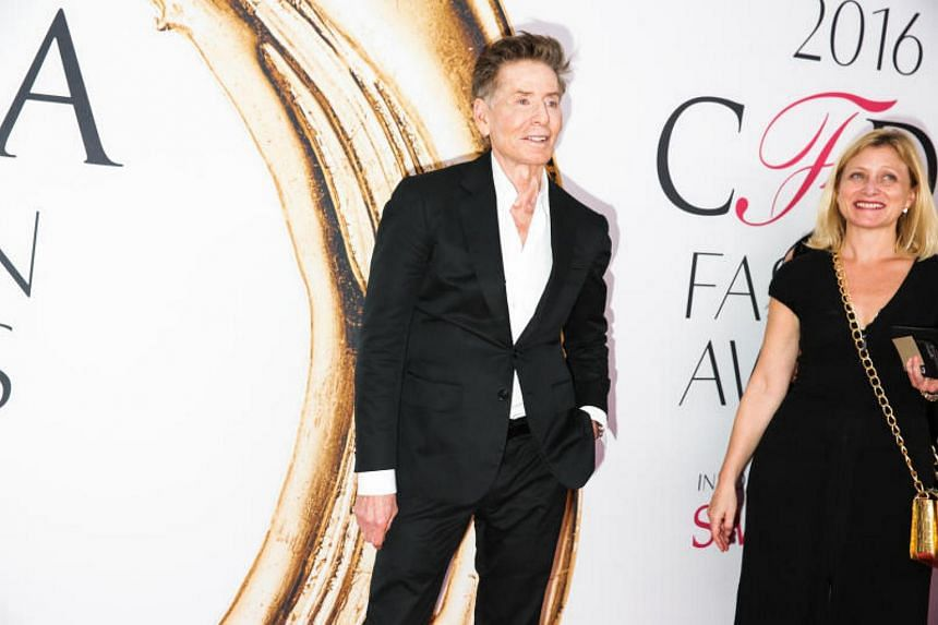 Calvin Klein at the 2016 CFDA Fashion Awards, at Hammerstein Ballroom in New York, June 6, 2016. Klein presented the Founder's Award to his longtime friend Donna Karan at the gala.