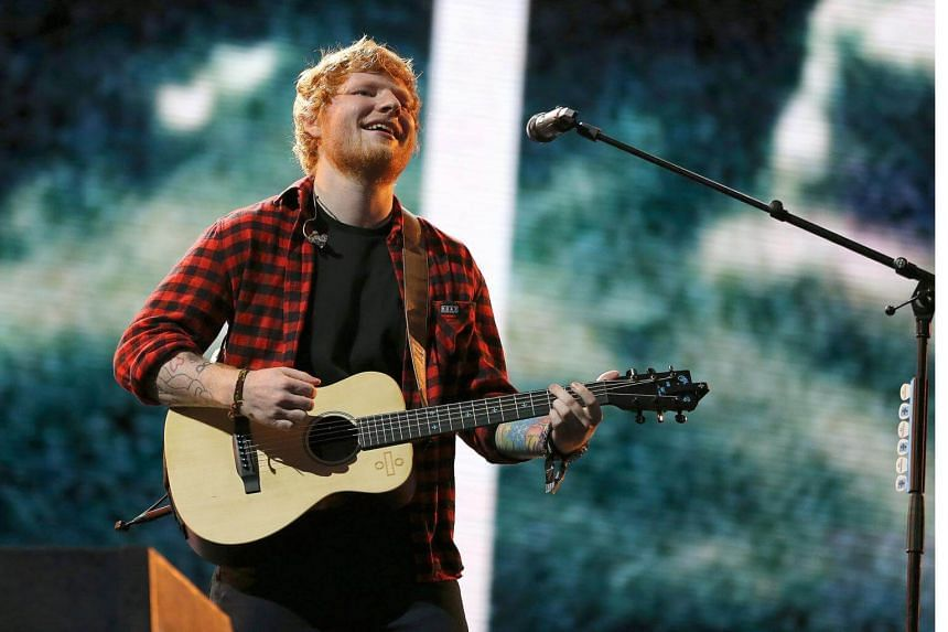 Ed Sheeran announced on social media last week that he had a bicycle accident, which left him with a broken wrist, elbow and rib, and that he would have to cancel some of his concerts in Asia.