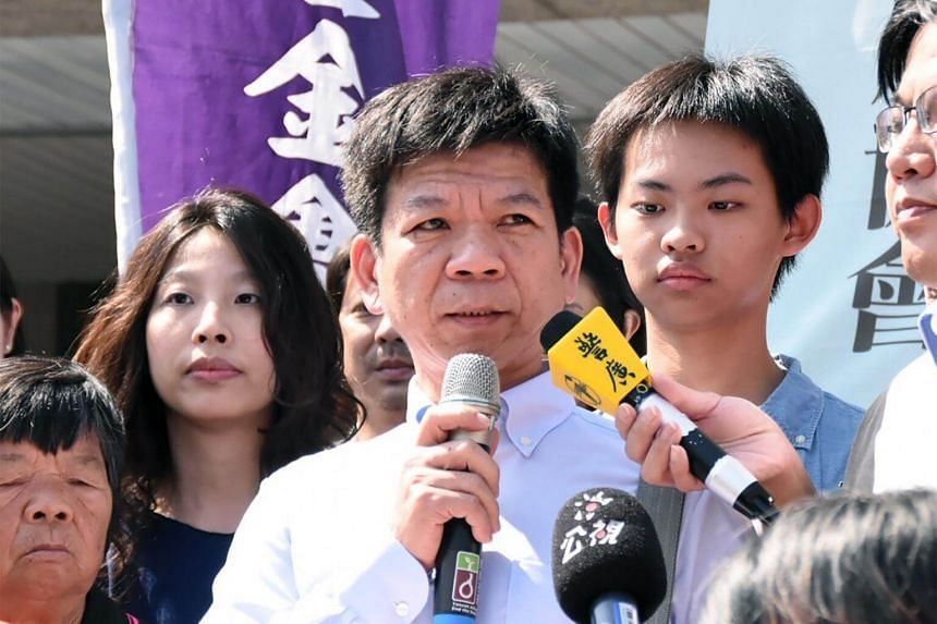 Taiwanese Cheng Hsing-tse was granted a retrial last year and released on bail when new evidence cast doubt on his conviction, suggesting he may have been tortured into admitting the crime.
