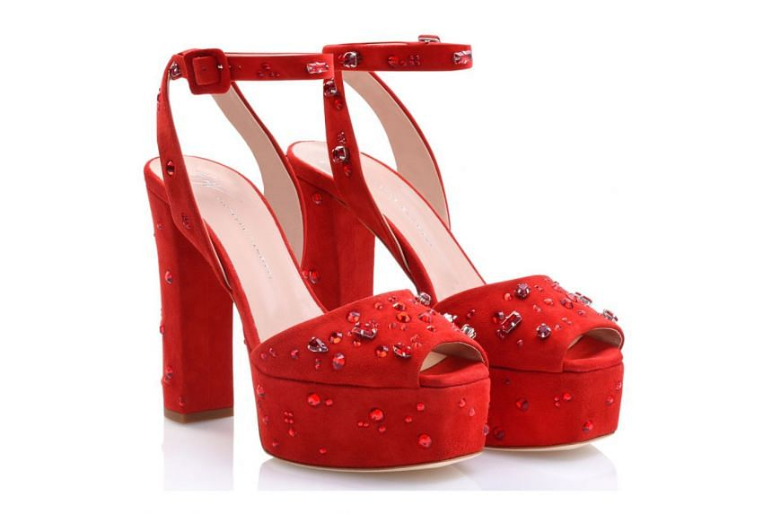 Singapore-exclusive Dazzling Betty shoes