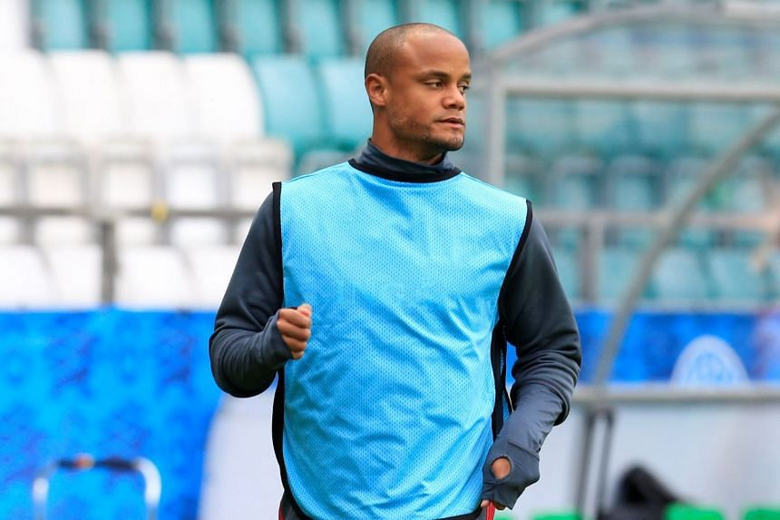 Kompany (above) has not played since suffering a calf problem in August 2017.