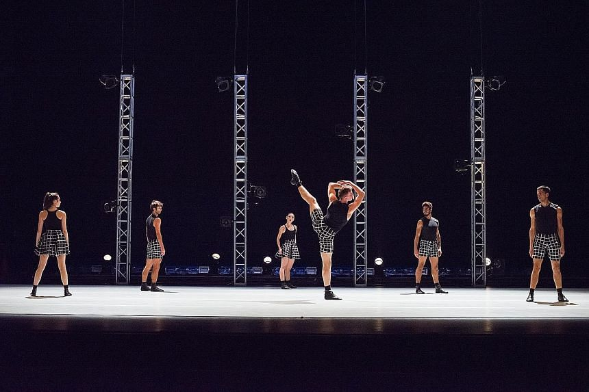 Benjamin Millepied's L.A. Dance Project is high on energy and creativity.